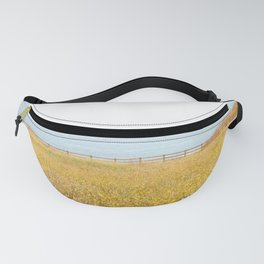 Nature Photography Wild Yellow Flowers II Fanny Pack
