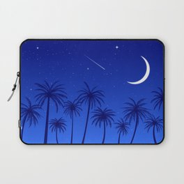 Blue Island Starry Sky Laptop Sleeve