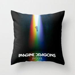 Imagine Dragon Evolve Throw Pillow