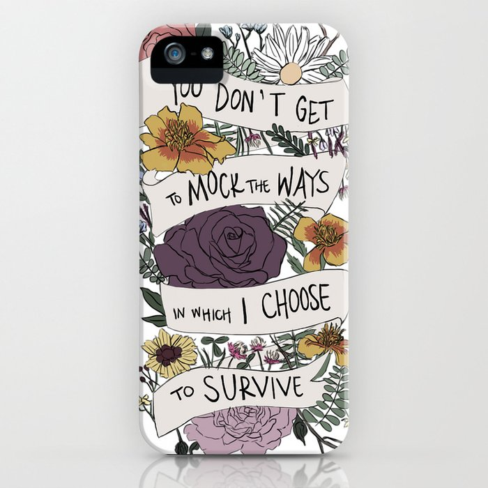 survive iPhone Case