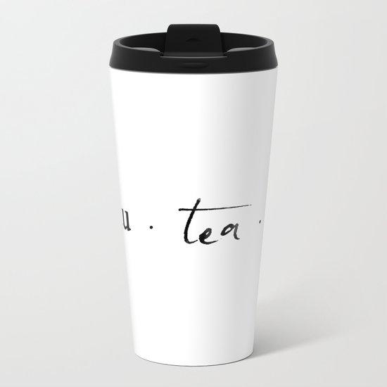 Beau.tea.ful Metal Travel Mug