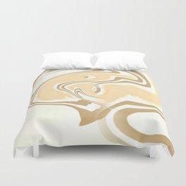Vanilla Swirl Duvet Cover