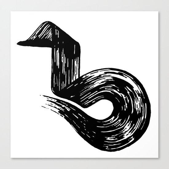 Swipe Canvas Print