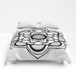 Mandala Illustration Comforters