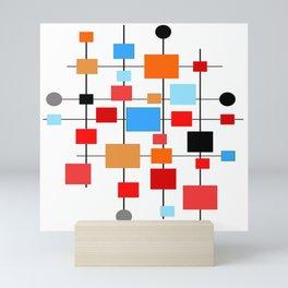 Mid-Century Modern Art 1.3.3 Mini Art Print