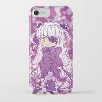 chibi iPhone & iPod Cases featuring Chibi Barasuishou by Yue Graphic Design