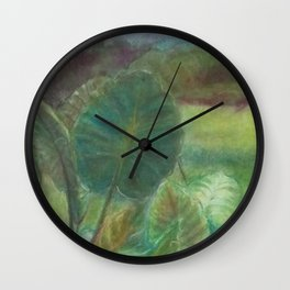 Wetland (Hong Kong) Wall Clock