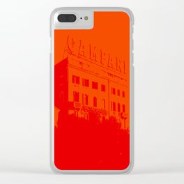 Venezia Red by FRANKENBERG Clear iPhone Case