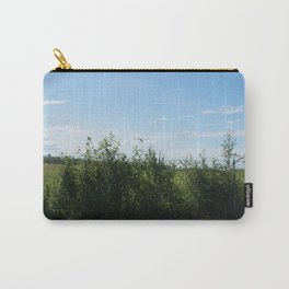 Airplane and Fence Carry-All Pouch