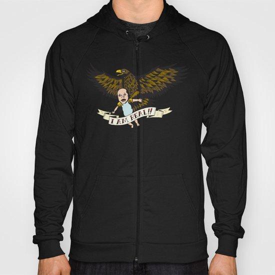 "Golden Eagle: ""I AM REAL!"" Hoody"