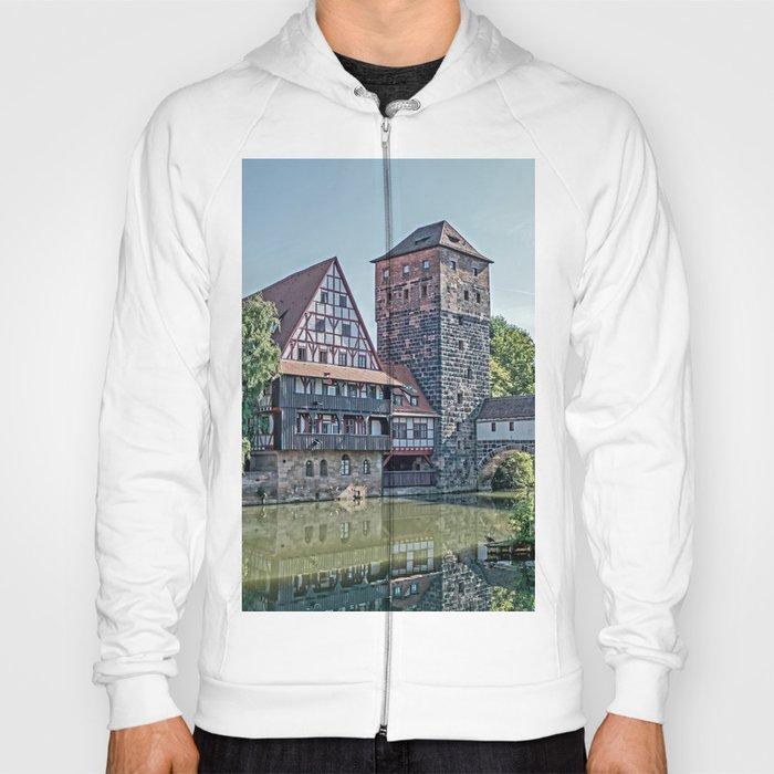 Romantic Nuremberg, -Franken-Bavaria-Germany Hoody