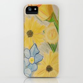 Forget me not, Daisy. iPhone Case