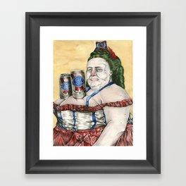 Nice Cans Framed Art Print