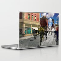 dinosaur Laptop & iPad Skins featuring Dinosaur by Beery Method