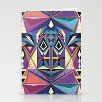 totem Stationery Cards featuring Totem by Naia Ceschin