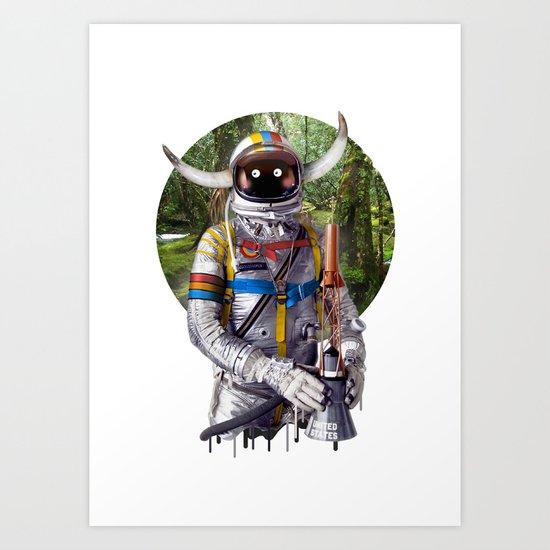 Admiral of the Fleet Art Print