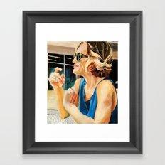 Op shops in Albuquerque Framed Art Print