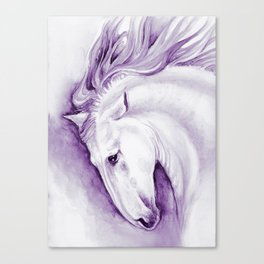 Purple Andalusian Canvas Print