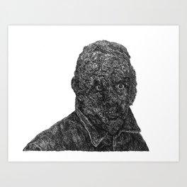 nightmare city Art Print