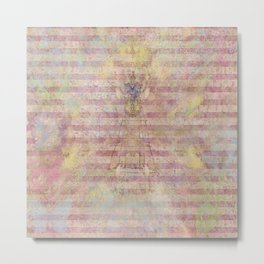 Art Journal 1 - Hint of an Angel Metal Print
