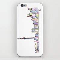 toronto iPhone & iPod Skins featuring Toronto by Ursula Rodgers