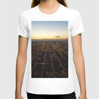 skyline T-shirts featuring Skyline by Mints&Bees