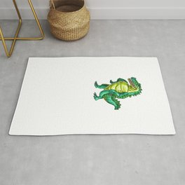 Gators Gonna Gater Alligator Reptile Animal Rug