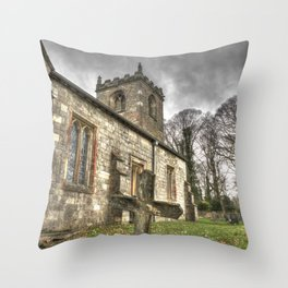 Paupers Grave Throw Pillow