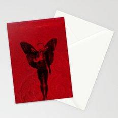 butterfly man v 2 Stationery Cards