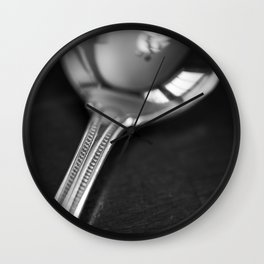 intimacy of the spoon Wall Clock