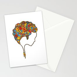 Musical Mind Stationery Cards