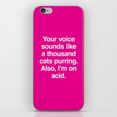A Thousand Cats iPhone & iPod Skin