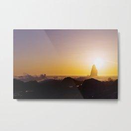Catching the Sun   Ocean Photography Metal Print