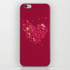 Heart2 Red iPhone Skin