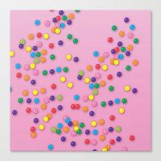 Donut Sprinkles Canvas Print