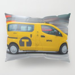 NYC TAXI  Pillow Sham