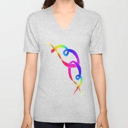 Rainbow 09 Unisex V-Neck