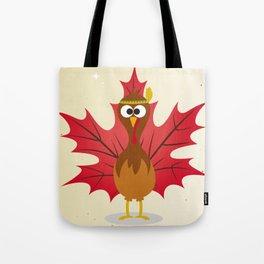Thanksgiving Tribal Turkey Woodland Nursery Tote Bag
