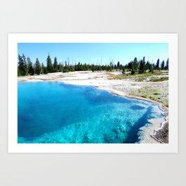 Bluer than the Sky Art Print