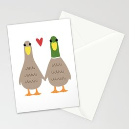 Love Ducks Stationery Cards