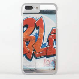 East Side Gallery Clear iPhone Case