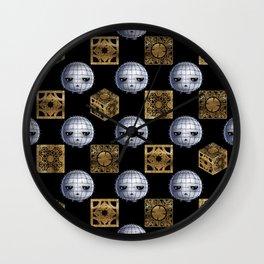 Chibi Pinhead & Puzzle Boxes Wall Clock