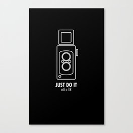 Just do it with a TLR Canvas Print