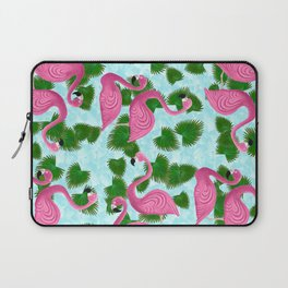 Flamingo Fun Laptop Sleeve