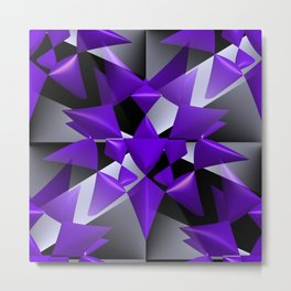 3D abstraction -08- Metal Print