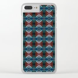 Tapestry 3 Clear iPhone Case