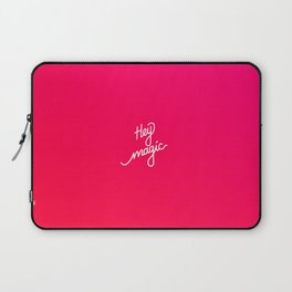Hey magic   [gradient] Laptop Sleeve