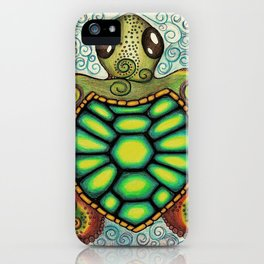 Baby Sea Turtle iPhone Case