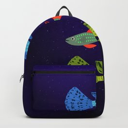 Beautiful guppy fish Backpack