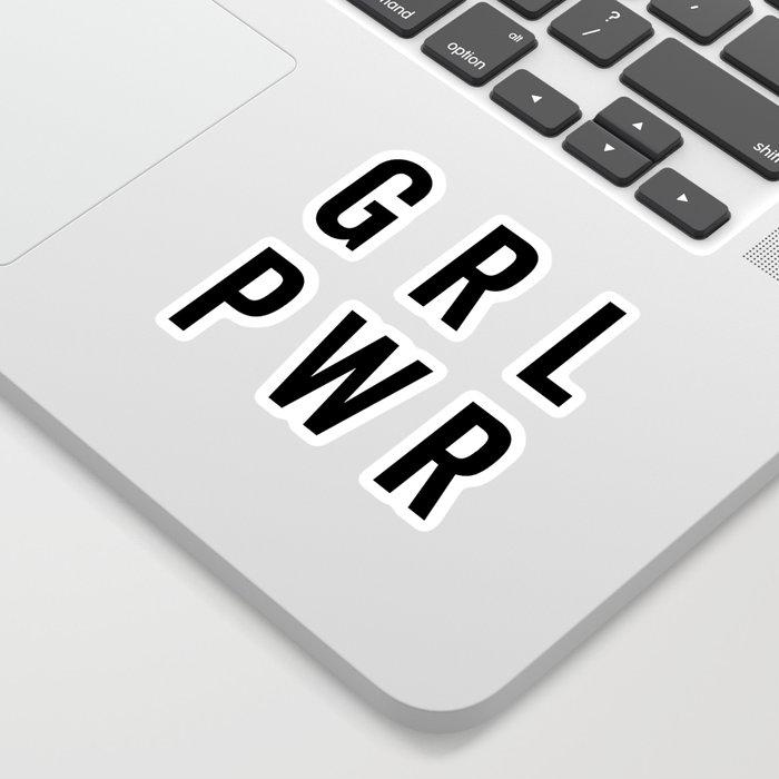 GRL PWR / Girl Power Quote Sticker